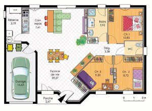 La Tortue Zen Plan Feng Shui Analyse logement Bouche du Rhone